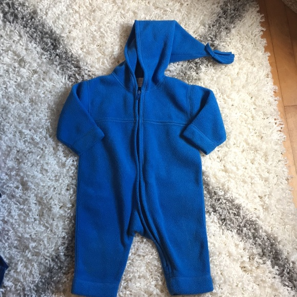 e510f390c Hanna Andersson Jackets & Coats | Fleece Winter Snow Suit Bunting ...